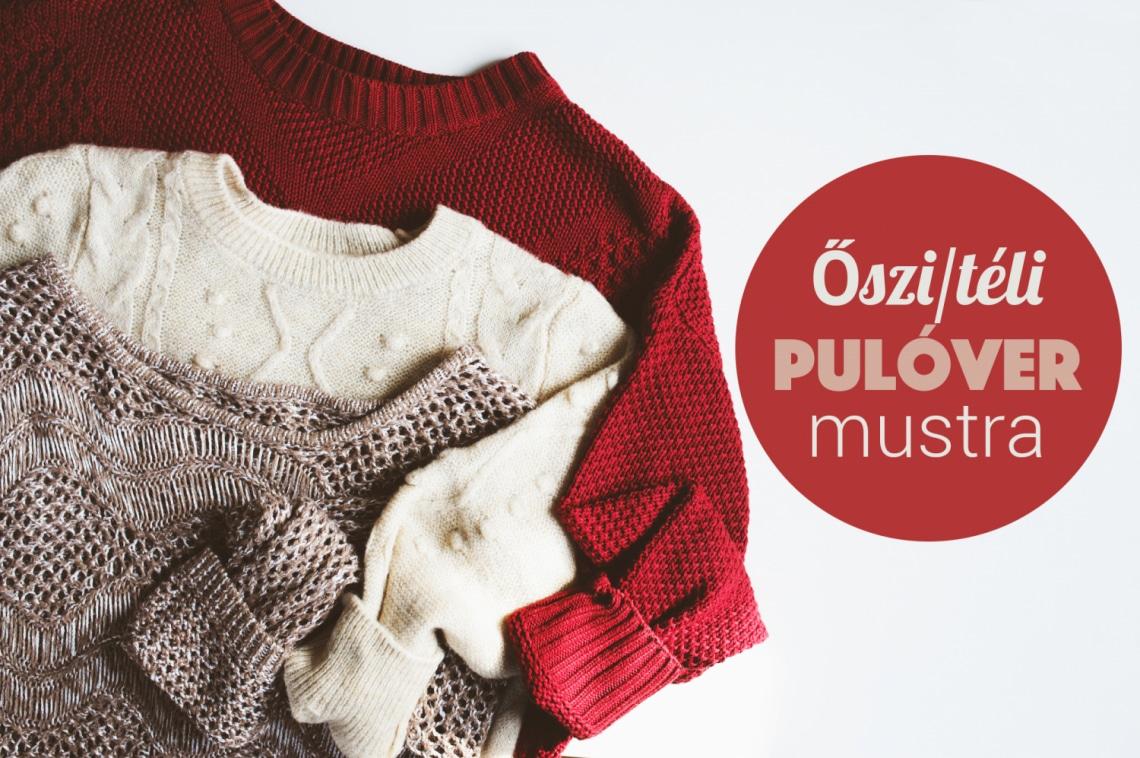 Kötött pulcsi mustra – Ezeket a szuper darabokat találtuk neked, lelőhelyekkel