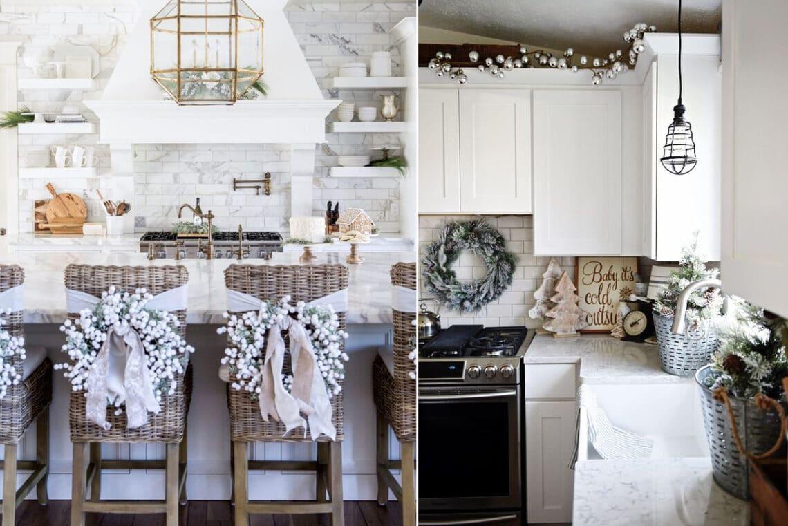 Karácsony a konyhában: ünnepi dekorációk képeken
