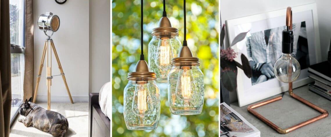 Kisebb vagyonba kerülnek a dizájner lámpák! 5 egyedi lámpa, amit könnyen el tudsz készíteni