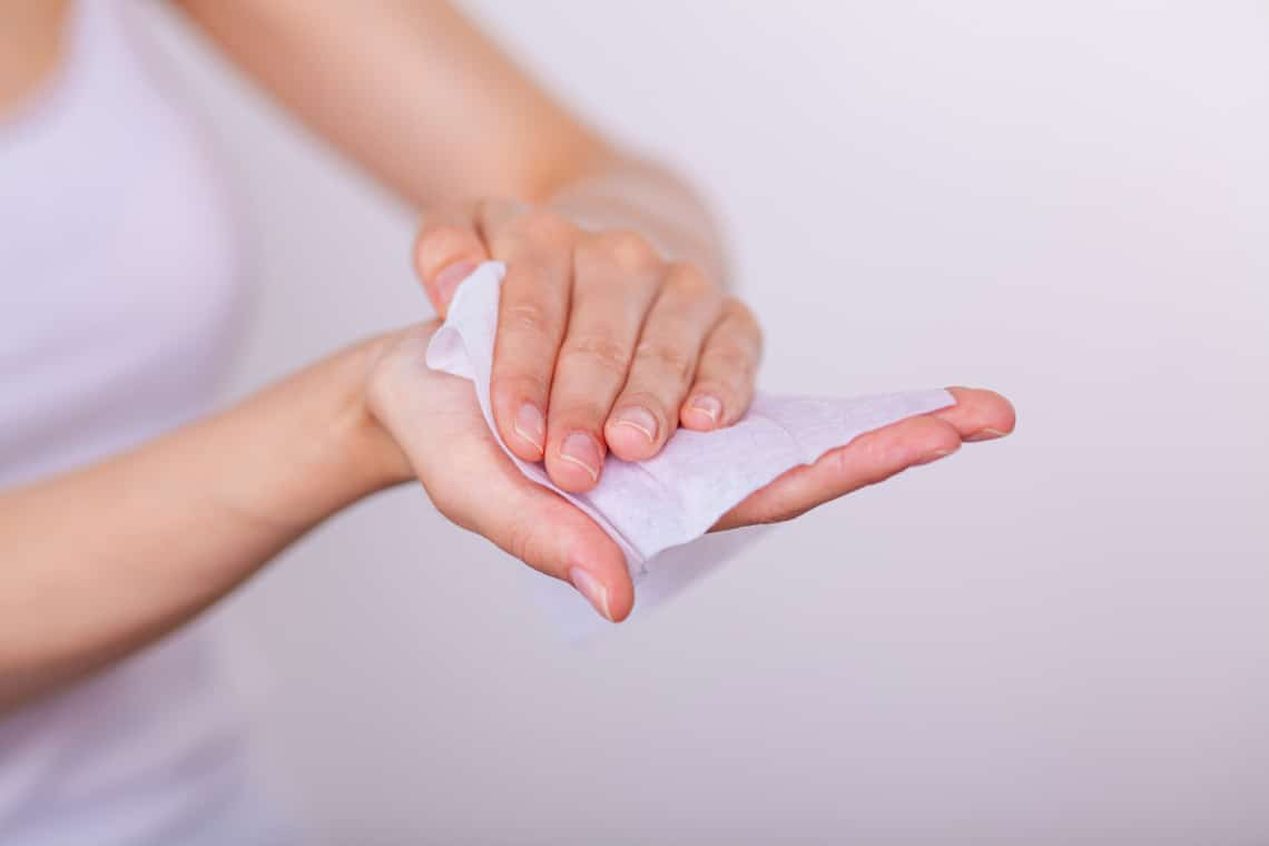 Koronavírus: 5 helyzet, amikor NE használj fertőtlenítő törlőkendőt