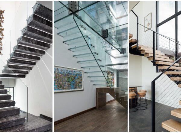 Kreatív, modern lépcsők, amik alaposan feldobják a beltéri látványt