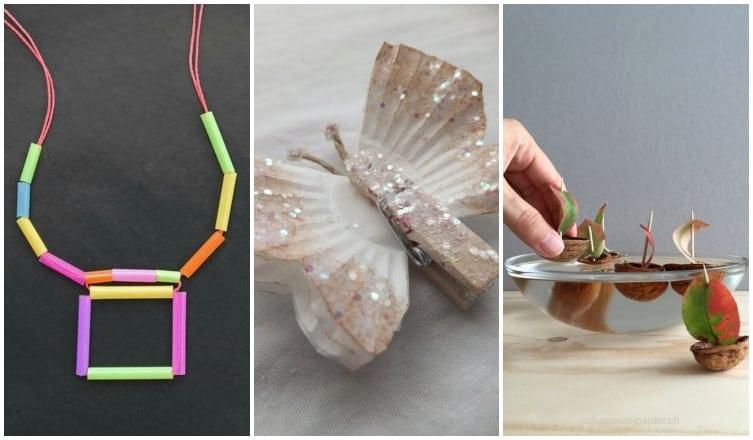 Kupakállatkák és papírpillangók – Kreatív projektek kicsiknek