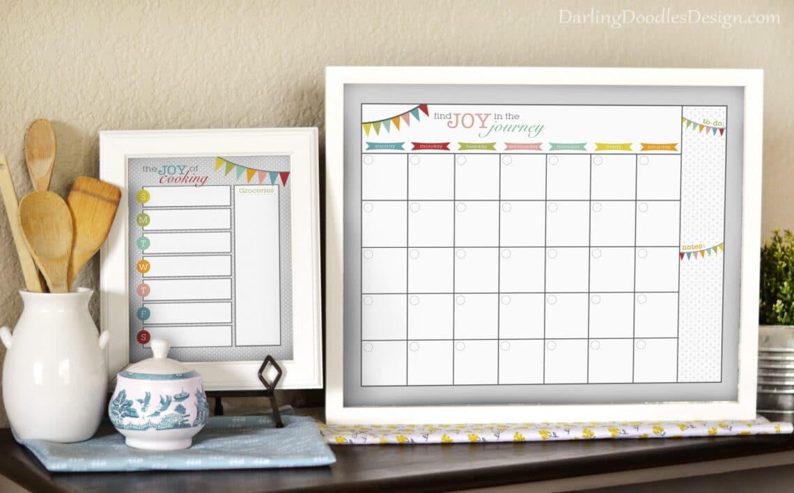 Mágneses, keretes, vállfás – Idén készítsd te a naptárat!