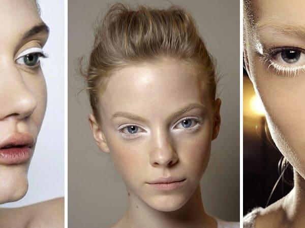 Meglepő, de gyönyörű az új 2018-as makeup trend: fehér sminkek