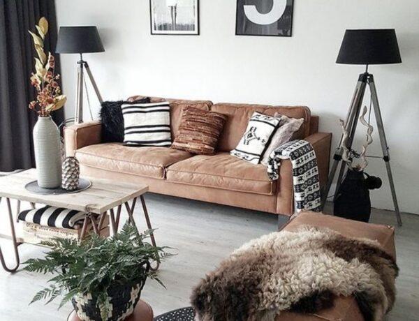 Megnyugtat vagy lehangol? Így működik jól a barna szín az otthonodban!