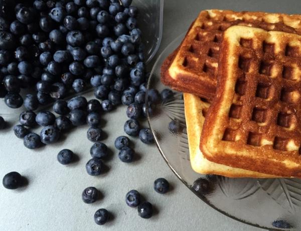 Meleg, diétás reggeli percek alatt: Proteines gofri