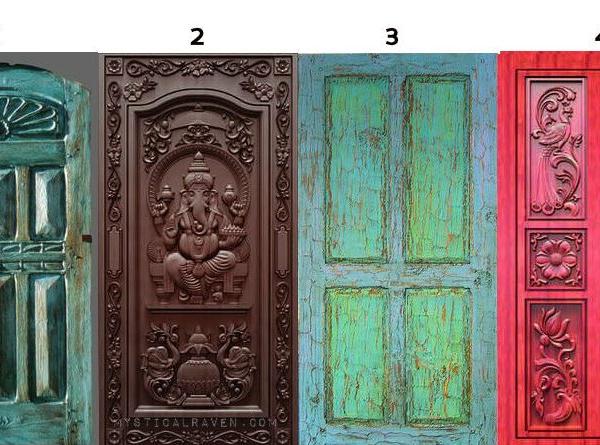 Melyik ajtón mennél be? A döntésed a lelkedről sokat elárul