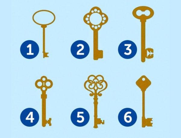 Melyik kulcs nyitja a ládát? A válaszod meglepő részleteket fed fel rólad