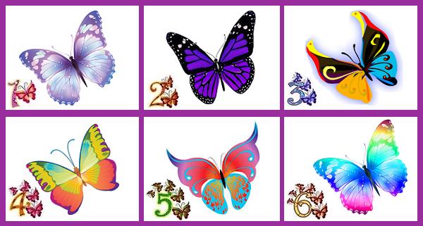 Melyik pillangó tetszik a legjobban? A válaszod felfedi a legkülönlegesebb tulajdonságodat