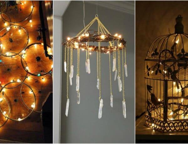 Mesés dekorációk fényfüzérrel – nem csak az ünnepi időszakra!