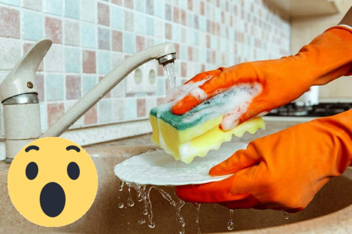 Mikor kell kidobni a mosogatószivacsot? Meg fog lepni a válasz!