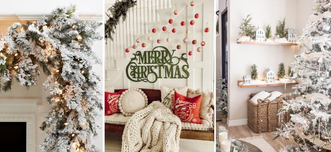 Milyen a falad karácsonykor? Stílusos dekor ötletek