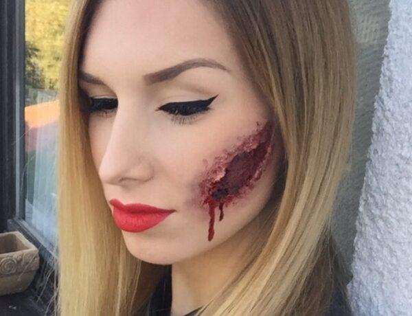 Mindjárt itt a Halloween! Készíts rémisztő sebeket pár perc alatt