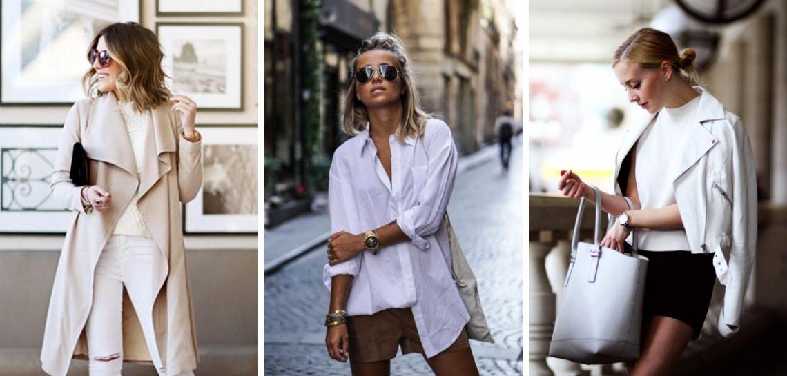 Napsütést idéző fehér a tavaszi divatban – Így hordd!