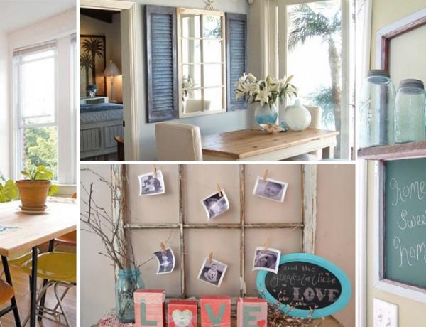 7 tipp, hogyan készíts praktikus dekorációt a régi ablakkeretből