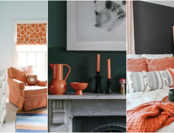 Ne félj a narancstól – Tippek, hogyan dekorálhatod vele a lakásodat