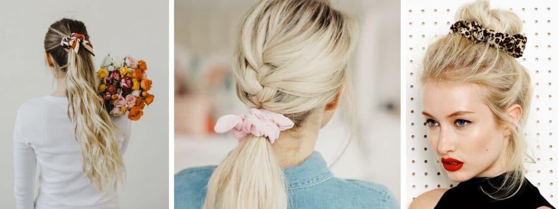 Nem ciki, ez most újra divat! 7 frizura a scrunchie hajgumival