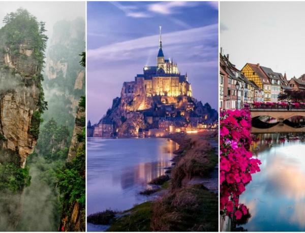 Nem csak a mesékben léteznek! 5 varázslatos helyszín a nagyvilágban