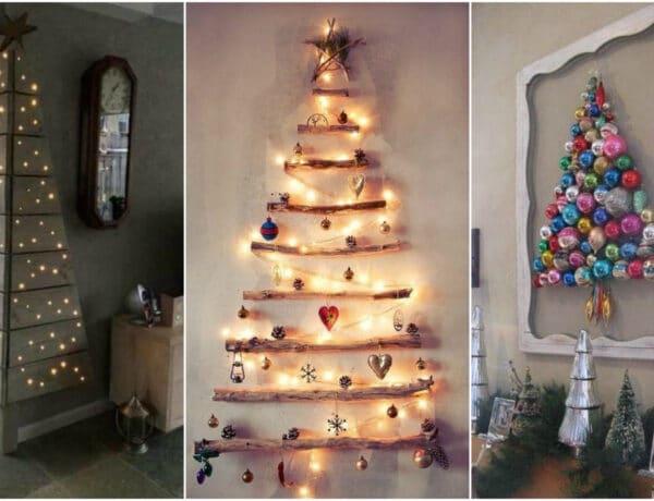 Nincs hely a karácsonyfának? 10 ünnepi dekoráció, ami helyettesíti a fenyőt