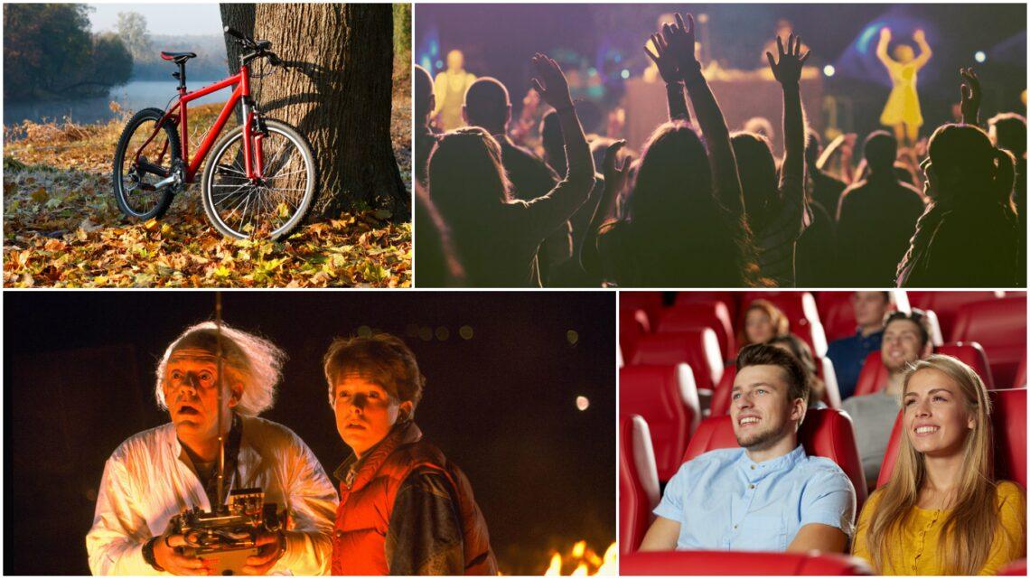 Október 19-25.: Filmek minden mennyiségben, biciklis túra és szuper bulik tehetik izgalmassá a jövő heted!