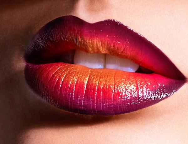 Ombrét az ajkakra – Így lehet színátmenetes rúzsod