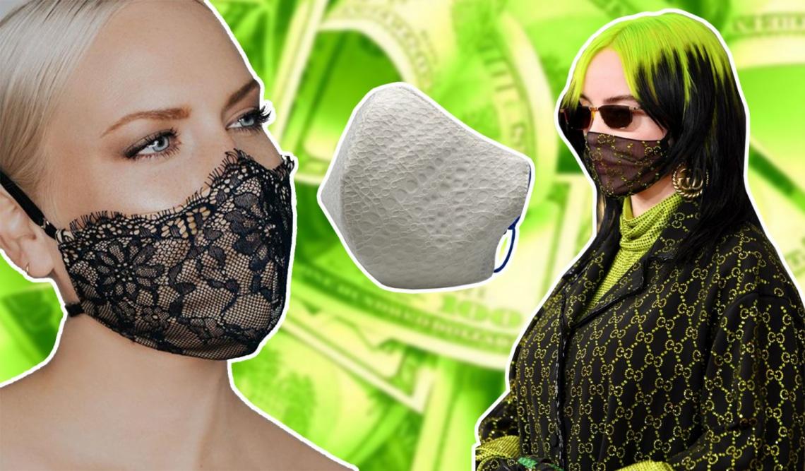 Pandémia-luxus: méregdrága divatmárkák, akik luxus maszkokat gyártanak