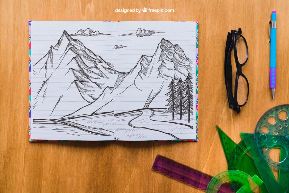 Rajzolj egy hegyi tájat, és derítsd ki, a pszichológia szerint mit árul el a lelkedről