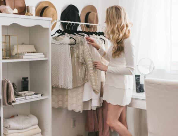 Sikkes DIY gardróbok, ha a zárt szekrény nem opció