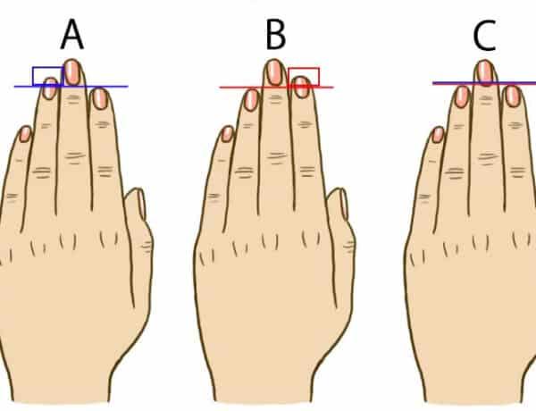 Melyik ujjad hosszabb? Sokat elárul a személyiségedről