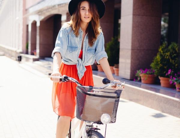 Stílusos bringások – Inspiráló divatfotók azoknak, akik két keréken róják a várost