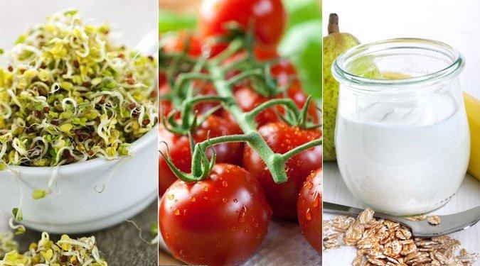 Szépítő és egészséges ételek