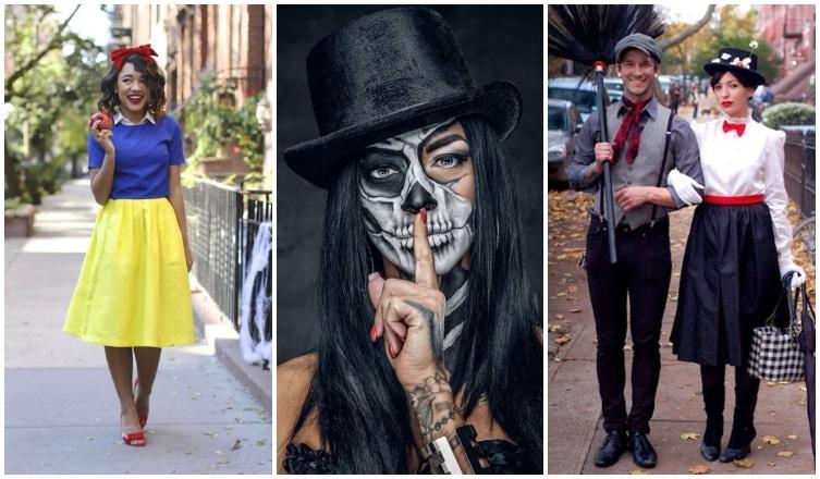 Szuper halloweeni kosztümök a horrorisztikustól a bájosig