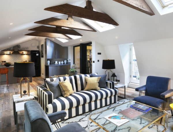 Tetőtérben is luxus életteret alakíthatunk ki – 5 szuper lehetőség a ferde falak alatt