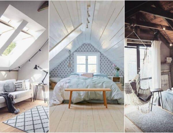Tetőtéri lakások: ilyen gyönyörűek, ha okosan rendezed be őket!
