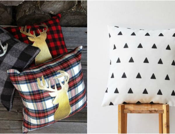 Trendi DIY párnahuzatok, amiktől hívogatóbb lesz a kanapéd
