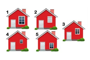 Válassz egy házat, amelyikben laknál, és derítsd ki, mit fed fel rólad