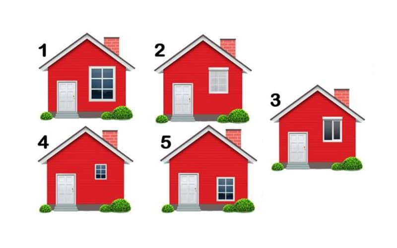 Válaszd ki azt a házat, amelyikben laknál, és derítsd ki, ez mit fed fel rólad