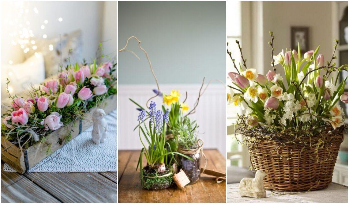 Varázsolj tavaszt az otthonodba! – Gyönyörű virágdekor inspirációk