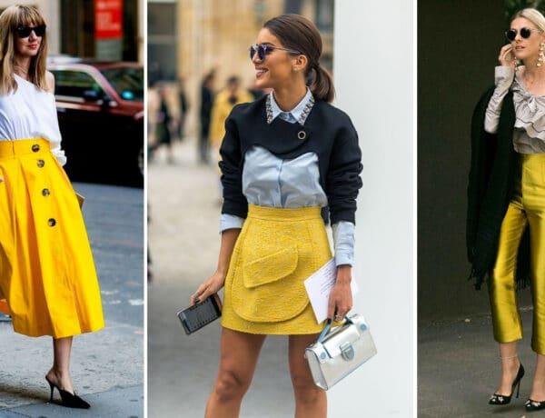 Vibráló citromsárga a tavaszi divatban – Így hordd!