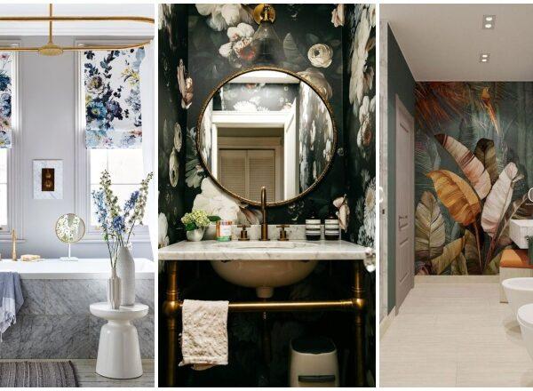 Virágba borult fürdőszobák – 15 lenyűgöző inspiráció