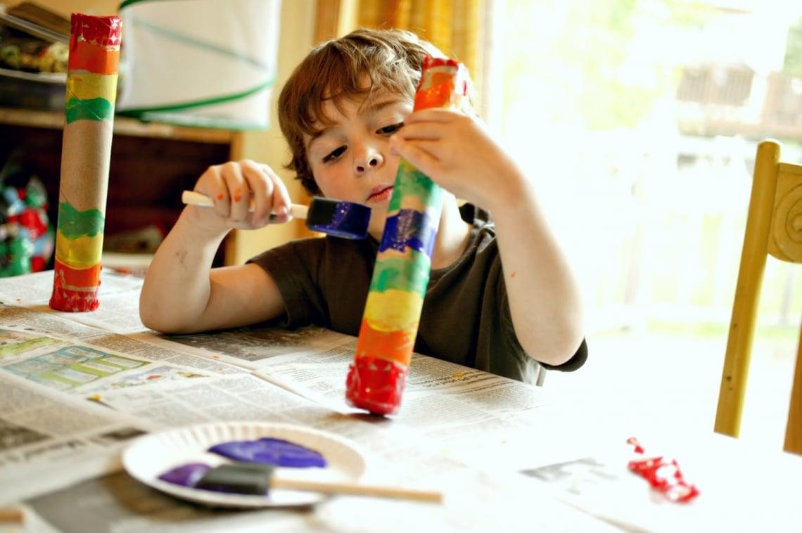 """5 otthon készült """"hangszer"""" a gyereknek, mert nyáron még zajongani is lehet!"""