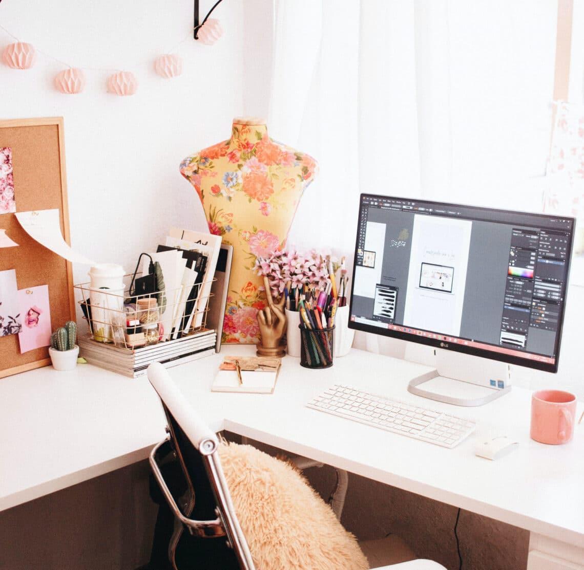 Így lehet a nappalidban dolgozó – Inspiráló megoldások
