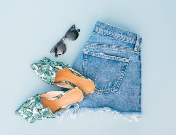 1 farmer rövidnadrág – 7 viselet