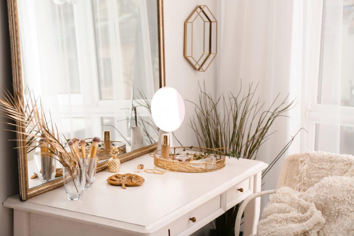 10 fésülködőasztal inspiráció, amit könnyen kialakíthatsz