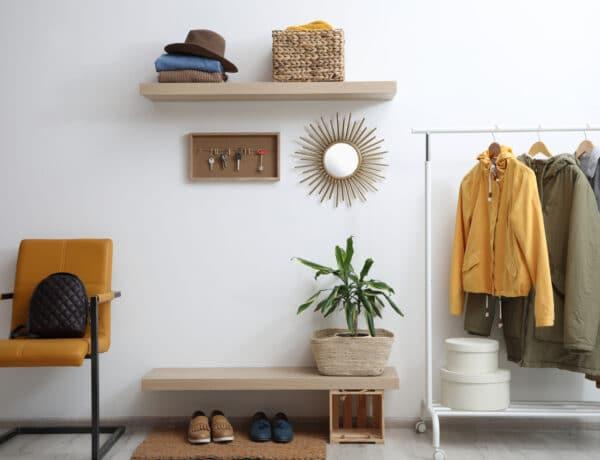 10 szenzációsan helytakarékos megoldás pici előszobába – kis hely, sok cucc