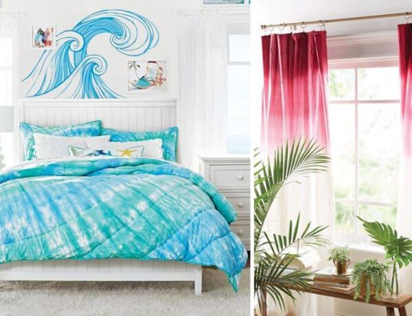 Az idei nyár dekorslágere a batikolt otthoni dekoráció, amit otthon is elkészíthetsz!