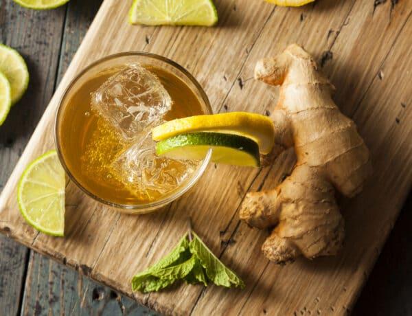 Kovász után ginger bug, avagy mennyei gyömbérsört érlelek a konyhapulton