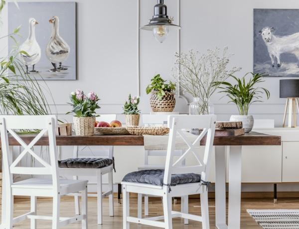 10 remek lakberendezési ötlet, ha kicsi az étkeződ