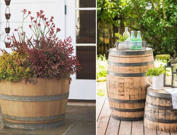 Így lesz egy hordóból a kerted legszebb kincse – 7 inspiráció