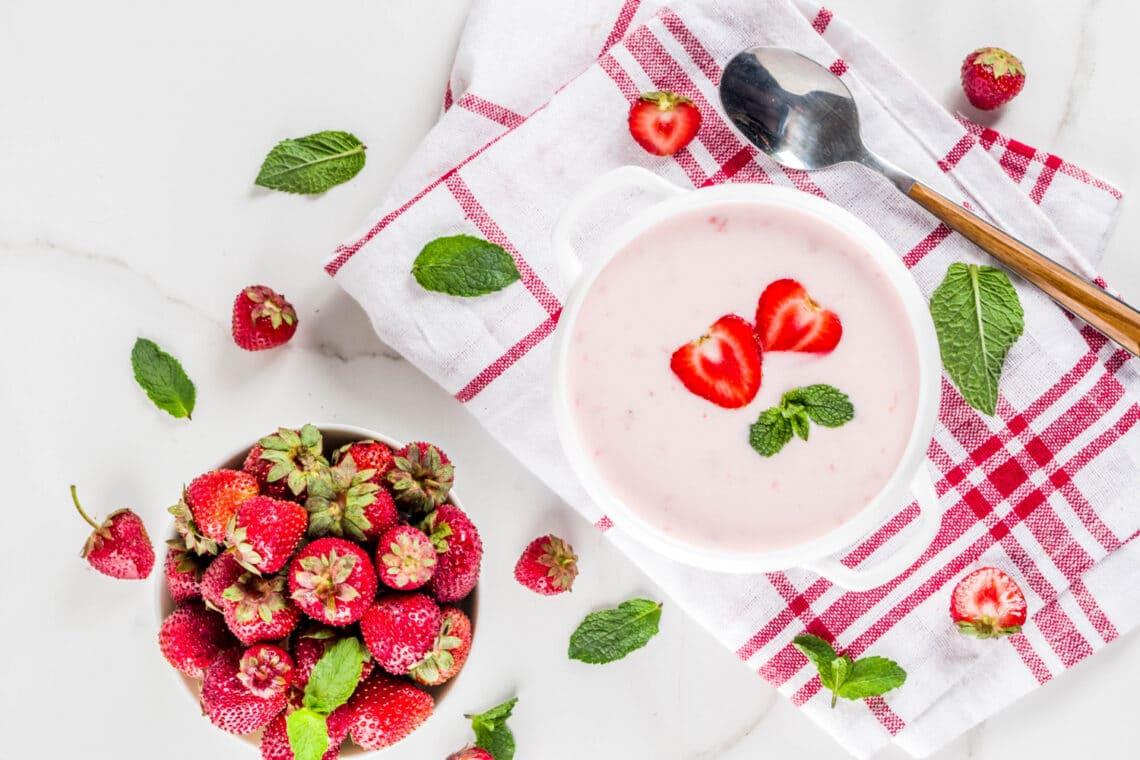 Az 5 kedvenc gyümölcslevesem receptje